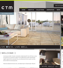 CTM Flooring Website