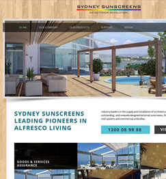 Sydney Sunscreens Website
