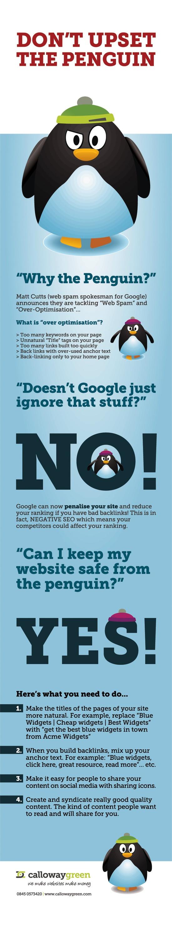 dont upset the penguin