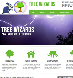 Tree Wizards Website