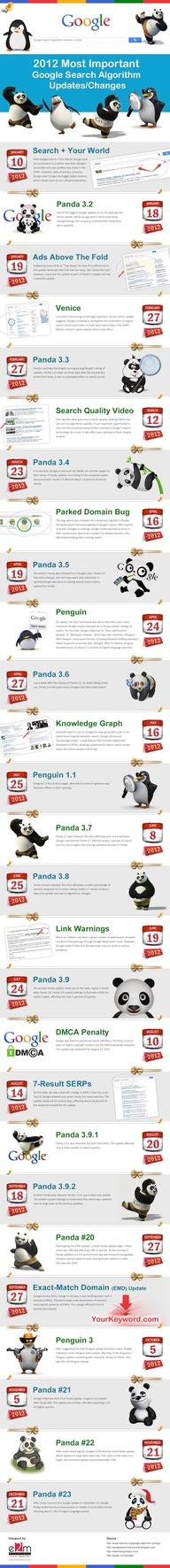 2012 Google Algorithms