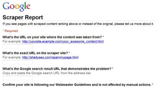 google scraper